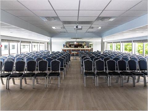 Конференц-зал теплохода «Николай Чернышевский»