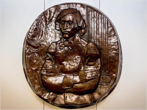 Эмблема теплохода «Николай Чернышевский»