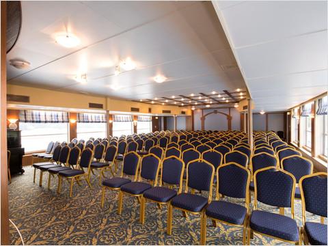 Конференц-зал теплохода «Георгий Чичерин»