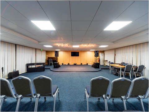 Конференц-зал теплохода «Сергей Кучкин» (фото 24 из 37)