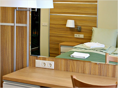 Спальная комната люкса теплохода «Александр Радищев» (фото 26 из 47)