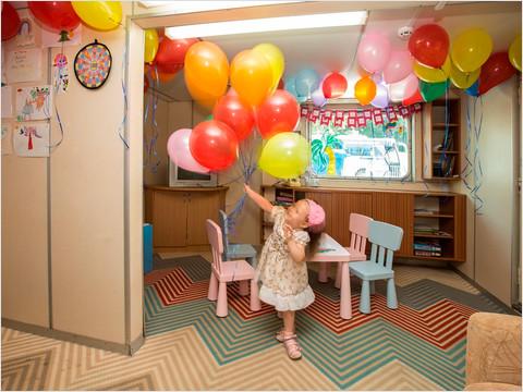 Детский клуб на главной палубе теплохода «Георгий Жуков»
